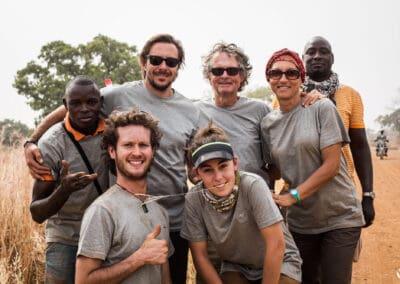 Une partie du staff de l'Ultra AFRICA Race 2015