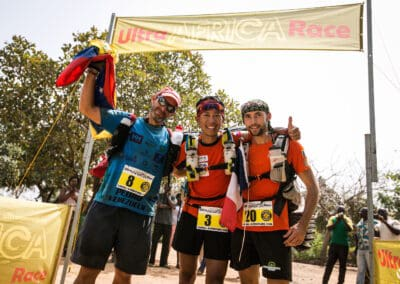 Pedro, Tommy & Max - Ultra AFRICA Race 2015