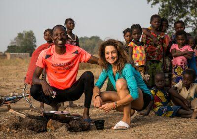 Ita Marzotto in Burkina Faso