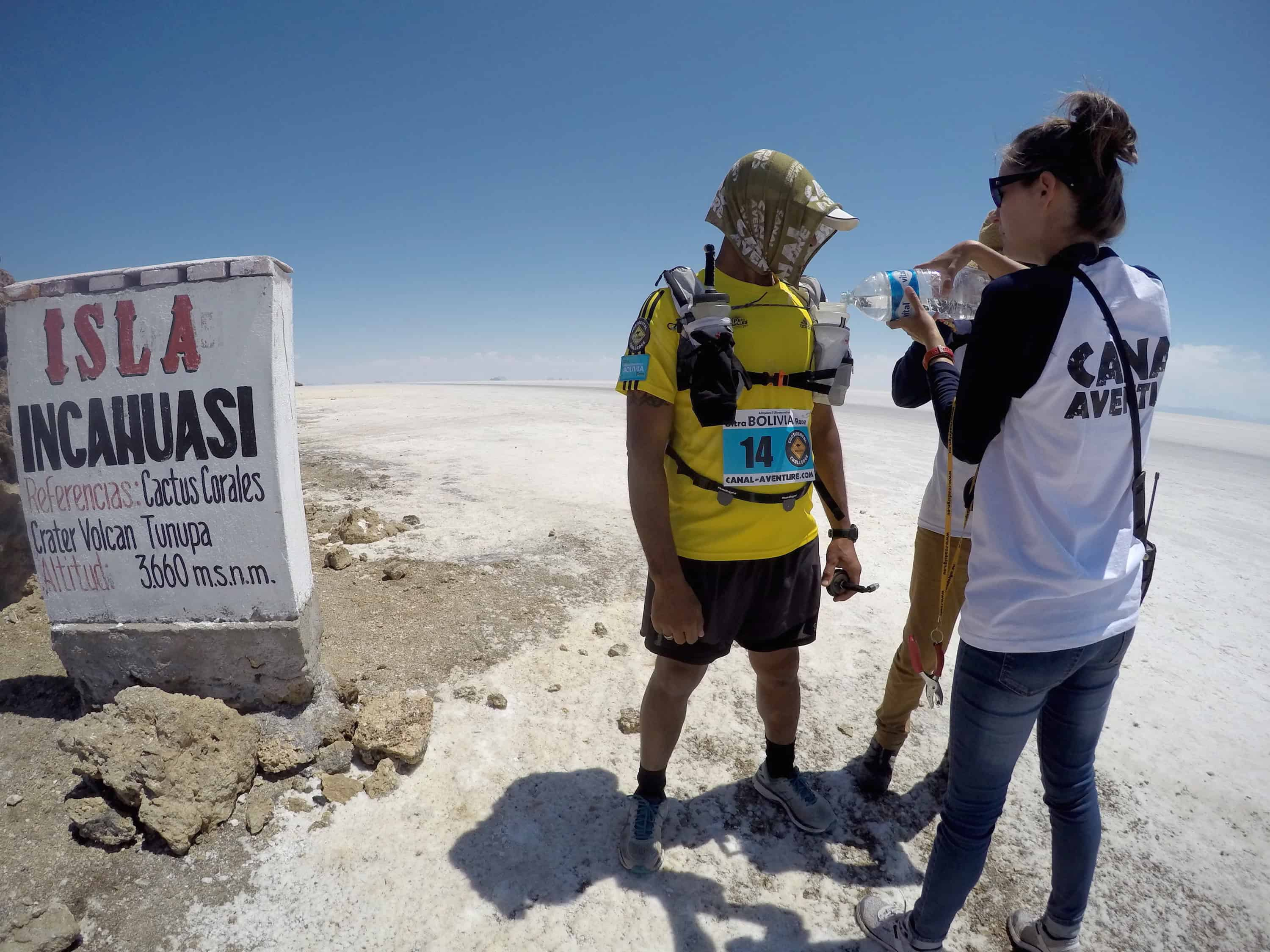 Check-point - Ultra BOLIVIA Race 2016