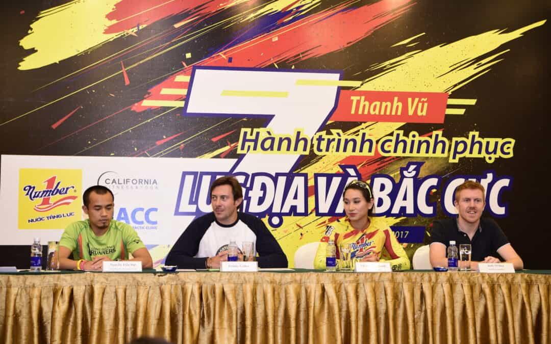 Conférence de presse à Hanoi
