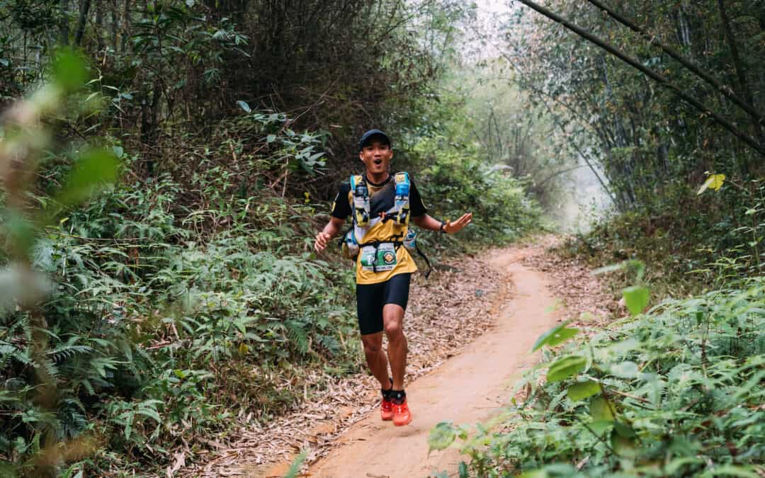 Quang Tran won the Ultra ASIA Race 2017!