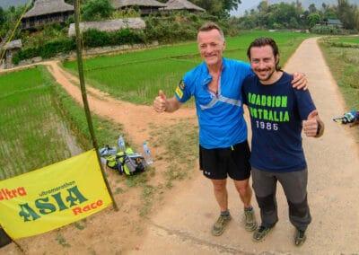 David Taylor (UK) & Jérôme Lollier - Ultra ASIA Race 2016