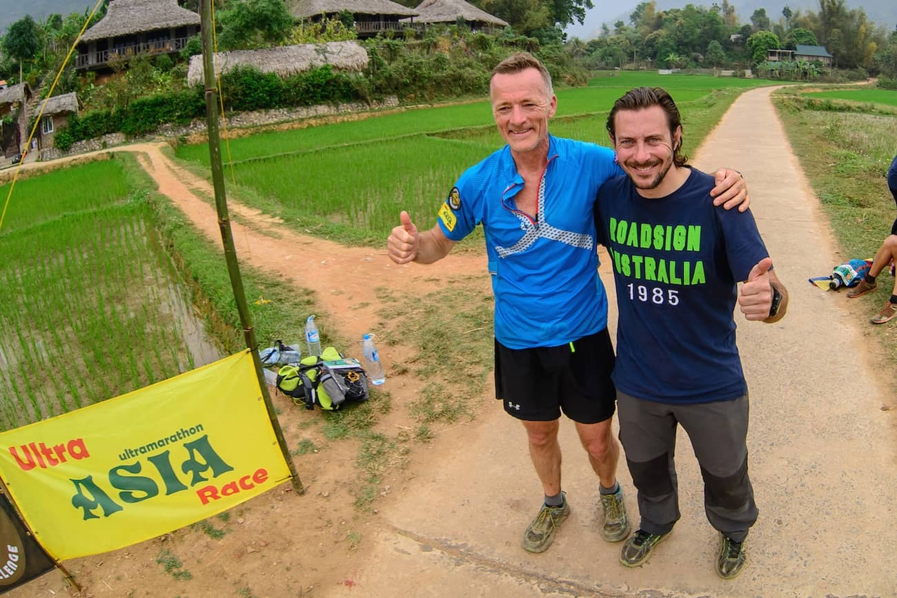 David Taylor (UK) & Jérôme Lollier - Ultra ASIA Race 2016