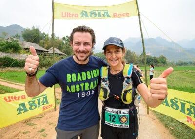 Ita Emanuela Marzotto (Italie) & Jérôme Lollier - Ultra ASIA Race 2016