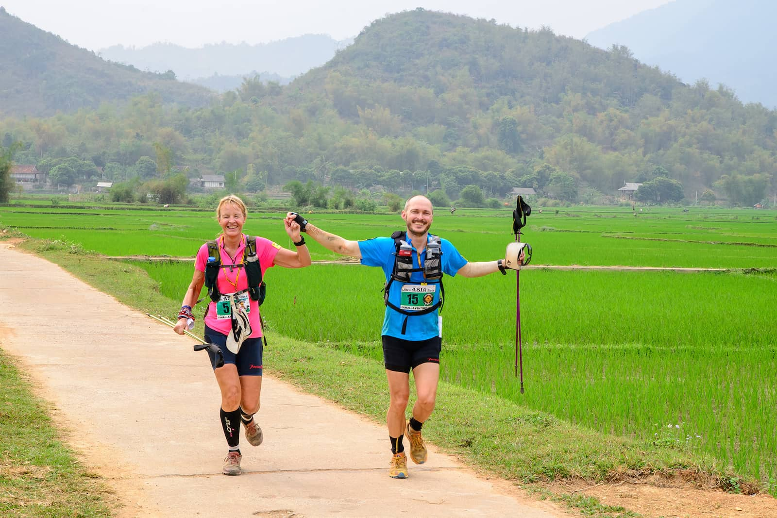 Kirsty & Graeme Harvey (UK) - Ultra ASIA Race 2016