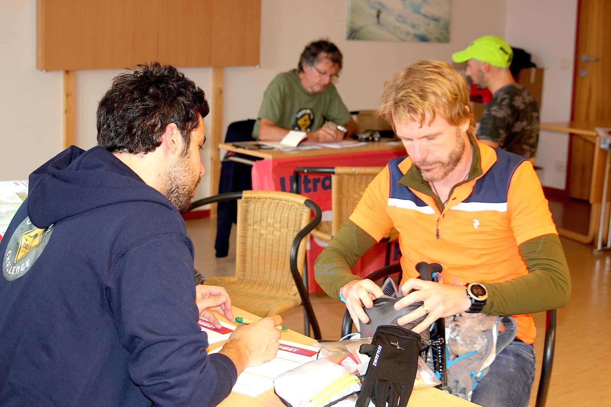 Contrôle technique - Ultra NORWAY Race 2016