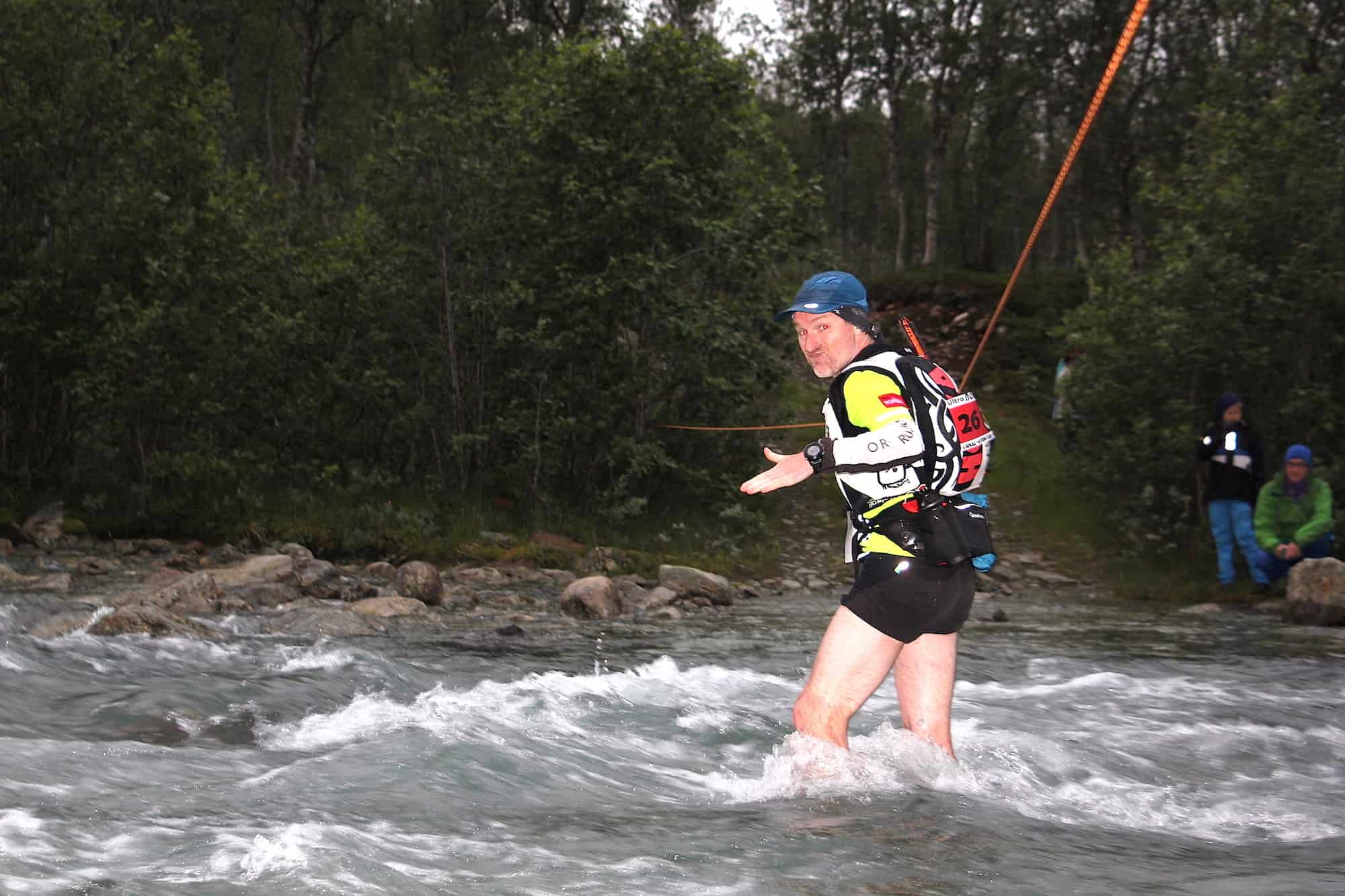 Vincent Gaudin (France) - Ultra NORWAY Race 2016