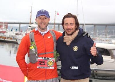Frode Lein (Norvège) & Jérôme Lollier - Ultra NORWAY Race 2016