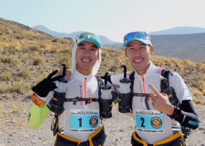 Eric & Paul Chan (Canada) - Ultra BOLIVIA Race 2016