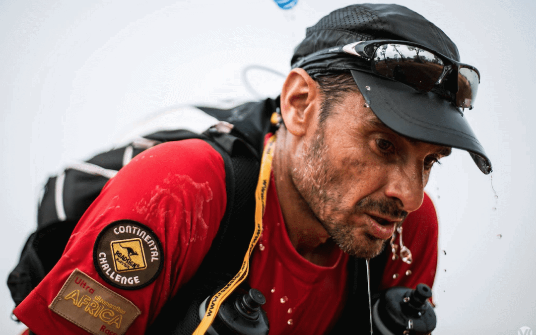 "Juan Ricardo Ferrero, the first runner 5 times ""Finisher"" on 5 different continents"
