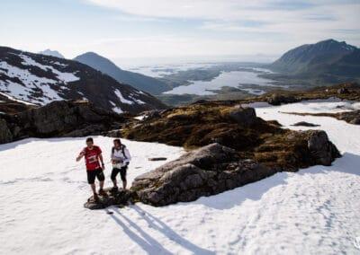 Romain Tamberi & Jérôme Lollier en reconnaissance sur les Iles Lofoten en Norvège