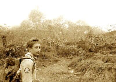 Xavier Gorsse en reconnaissance au Vietnam