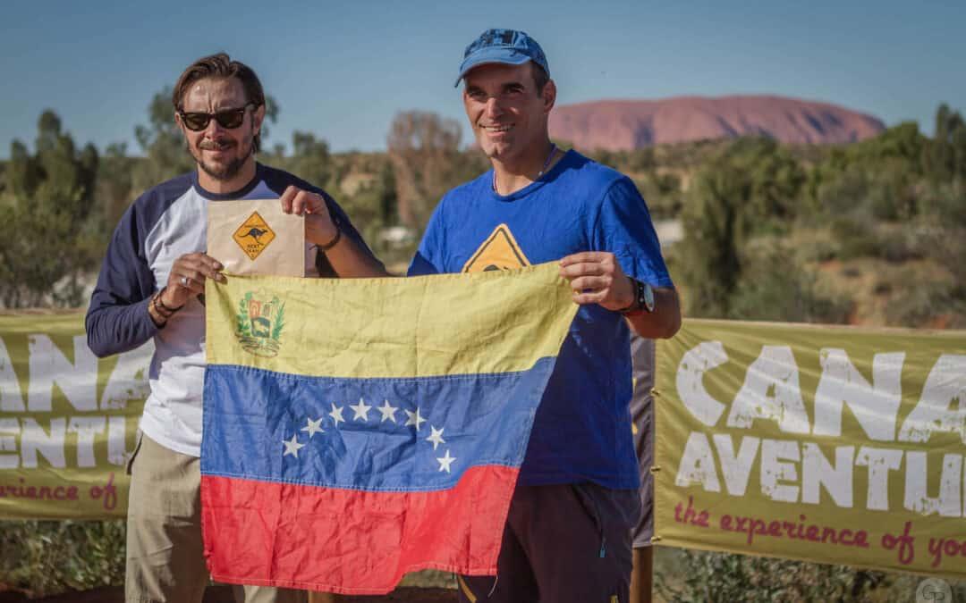 Canal Aventure did honoring to Pedro Vera Jimenez (Venezuela) in Australia!