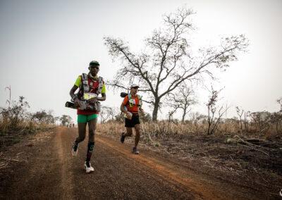 Anatole Gouba (Burkina Faso) & Tommy Chen (Taïwan) - Ultra AFRICA Race 2015