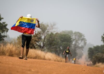 Glendy Pena Weffer (Vénézuela) - Ultra AFRICA Race 2015