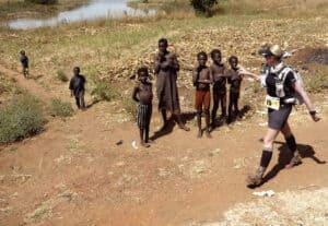 Cécile Bertin au Burkina Faso